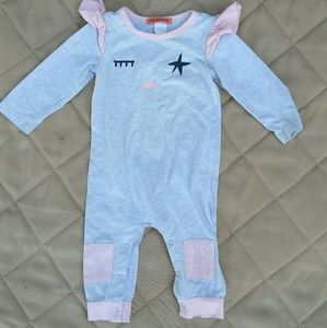 cute girly one piece jumpsuit 12M kids